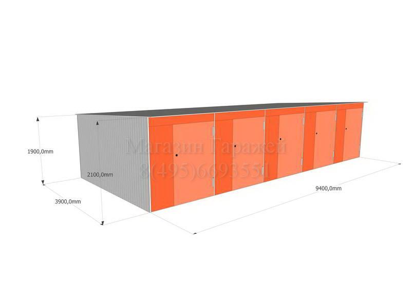 Модульный хозблок для хранения